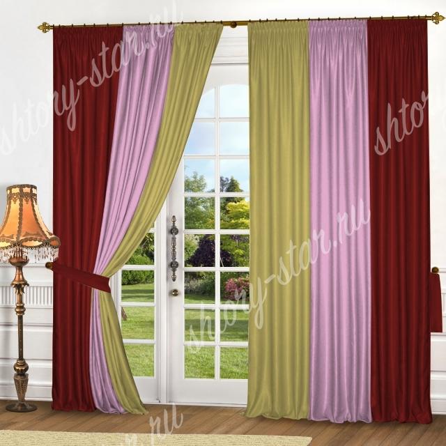 недорогие декоративные шторы на окна