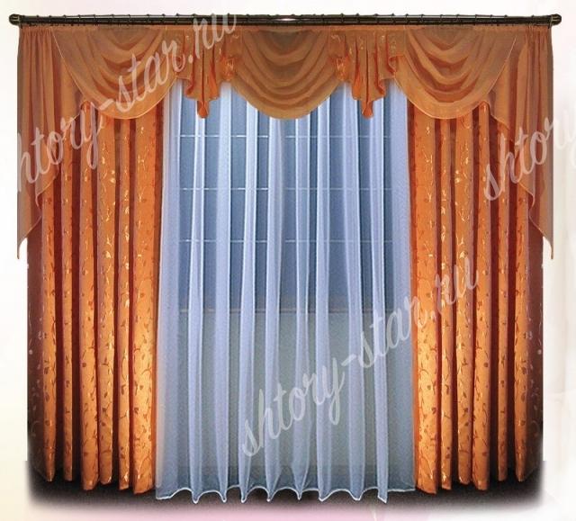 шторы с ламбрекеном по акции