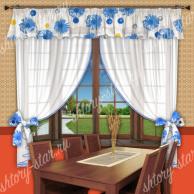 Кухонные шторы и занавески в кухню