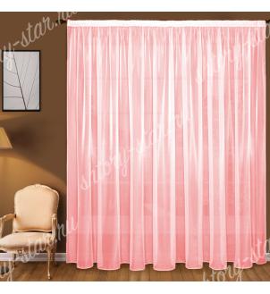 Готовый тюль цвет розовый, матовая. Цена от 700 руб.