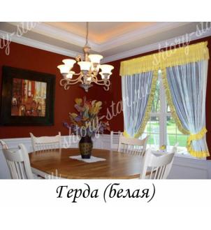 Шторы для кухни для простых и балконных окон