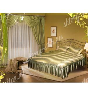 шторы и покрывала для кровати лира комплекты для спальни из