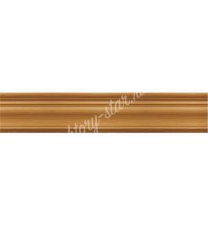 Багетный карниз деревянный для штор настенного и потолочного крепления