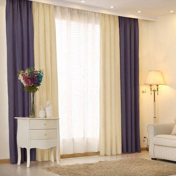 асиметричные шторы для дома